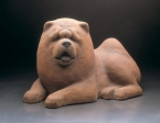 Chow-chow, artificial stone, 40 cm, 1974