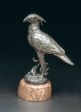 Secretary bird, tin, 14 cm, 1989
