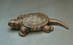 Big-headed turtle, tin, 13 cm, 1989