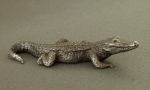 Small crocodile, tin, 8 cm, 1984