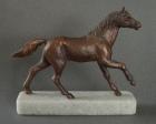 Arabian horse, tin, 16 cm, 1989