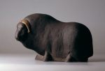 Musk ox, artificial stone, 40 cm, 1991