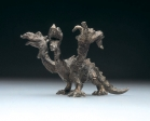 Dragon, tin, 13 cm, 1988